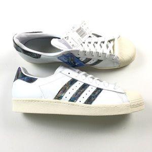 087bd88a6bfe ... Adidas Mens Superstar 80 s Shoes 13 ART BZ0148 Adidas Mens Black  Cloudfoam Shoes 13 ART AW3915 New Balance 574 Aqua Croc Kids Youth Shoes 1  Z13 ...